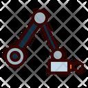 Robotic Arm Robot Rover Icon