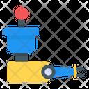 Automation Robotic Arm Hydraulic Robot Icon