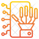 Robotic Arm Robot Hand Industrial Robot Icon