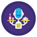 Robotic Assistant Icon