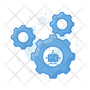Robotic Automation Robot Configuration Industrial Automation Icon