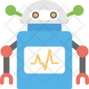 Robotic Cardiac Monitor Icon