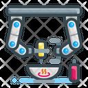 Robotic Chef Arm Icon