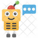 Robotic Communication Icon