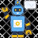 Robot Settings Robot Management Robotic Technology Icon