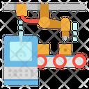 Computer Conveyor Robotic Icon