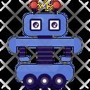 Robotic Conveyor Robot Mechanical Robot Icon