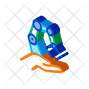 Robotic Delivery Outlie Icon