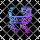 Robotic Dog Robot Dog Icon