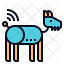 Robotic Dog Icon