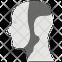 Robotic Face Icon