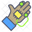 Robotic hand Icon