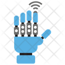 Robotic Hand Mechanical Hand Technological Hand Icon