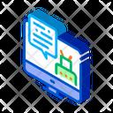 Personal Information Robotic Icon