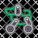 Robotic Automatic Machine Icon