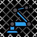 Robotic Machine Machine Engineering Icon