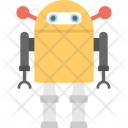 Robotic Man Android Icon