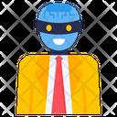 Robotic Man Icon