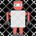 Robotic Man Bionic Icon