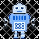 Robot Management Bionic Man Humanoid Icon