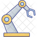 Robotic Manufacturing Automation Control Icon