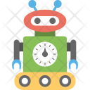 Industrial Robot Robotic Icon