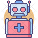 Robotic Support Robotic Help Medical Robot Icon