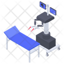 Robotic Surgery Machine Icon