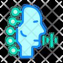 Robotic Voice Icon