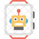 Robotic Watch Technology Icon