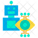Artboard Robot Science Icon