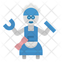 Robotics Housemate Mechanic Icon