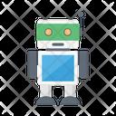 Robotics Automatic Artificial Icon