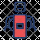 Robotics Science Technology Icon
