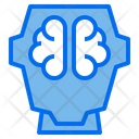 Robotics Ai Brain Icon
