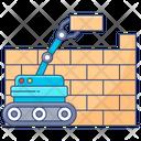Automation Robotics Construction Robotic Arm Icon