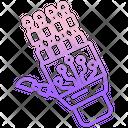Robotics Hand Icon