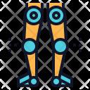 Robotics Leg Robot Icon