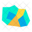 Mountain Cave Shelter Icon
