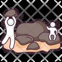 Stones Rocks Pebbles Icon