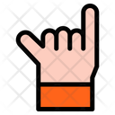 Rock Hand Hands And Gestures Icon