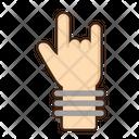 Rock Gesture Icon