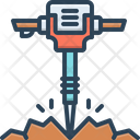 Rock hammer Icon