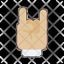 Rock Hand Hands Rock Icon