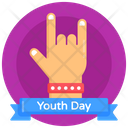 Hand Gesture Rock Sign Rock Symbol Icon
