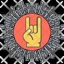 Rock Symbol Icon