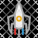 Rocket Shuttle Space Icon