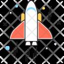 Rocket Space Spaceship Icon