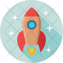 Missile Rocket Spacecraft Icon