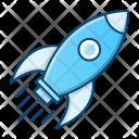 Rocket Launch Development Icon